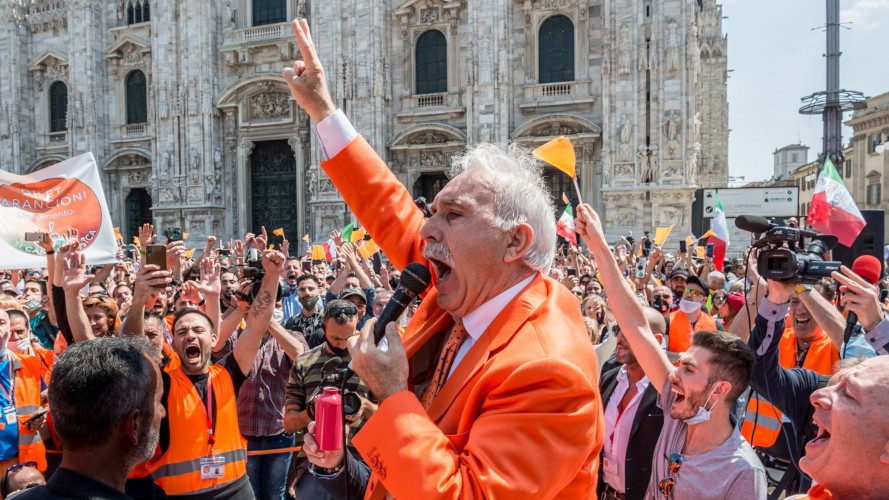 Gilets orange Italie