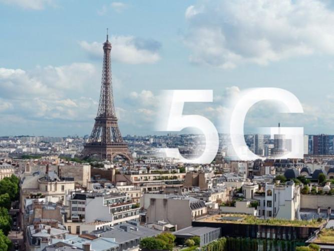 Rete 5G in Francia